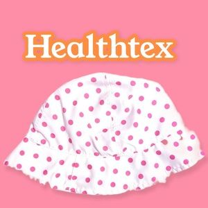 Healthtex baby's one size polka dotted sun hat